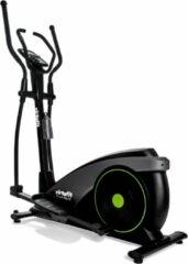 Grijze Crosstrainer - VirtuFit iConsole Total Fit - Hartslagfunctie - Ergometer - 24 Programma's - Bluetooth - Cross Trainer Fitness - Zwart