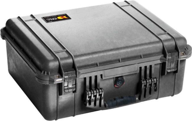 Afbeelding van PELI Outdoor-koffer 1550 33 l (b x h x d) 525 x 216 x 435 mm Zwart 1550-000-110E