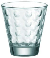 "Leonardo 012683 Glas / Whiskybecher ""Optic"", 250 ml, Ø 8,5 x 9 cm, transparent (1 Stück)"