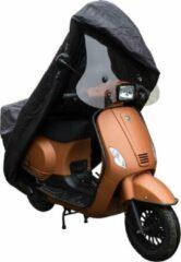 Zwarte Oplos Scooters Scooterhoes met Windscherm DS-Covers Cup