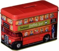 New English Teas Heritage Range Buses Tin 40 Teabags English Afternoon