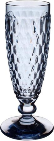Afbeelding van Blauwe VILLEROY & BOCH - Boston coloured - Champagneflute Blue 16cm 0,15l