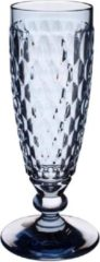 Blauwe VILLEROY & BOCH - Boston coloured - Champagneflute Blue 16cm 0,15l