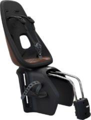Bruine Thule Yepp Nexxt Maxi Frame Mounted fietsstoeltje achter