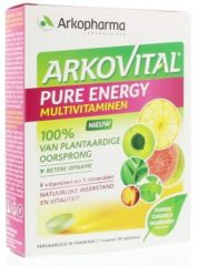 Arkopharma Arkovital Pure Energy Multivitaminen Tabletten