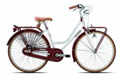 26 Zoll Damen Holland Fahrrad Legnano Vintage Legnano weiß-bordeaux