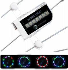 Zwarte LOUZIR LED Fietswiel Spaak Licht Kinderen - Spaakverlichting / Fietswielverlichting