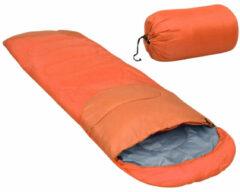 VidaXL Slaapzak lichtgewicht 15 850 g oranje