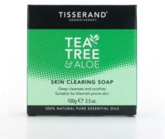 Tisserand Skin clearing soap tea tree aloe 100 Gram