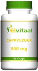 Elvitaal Caprylzuur 500 mg 90 Vegacaps