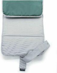 KipKep Napper Verschoonmatje - Calming groen - machinewasbaar - uit gerecyclede materialen