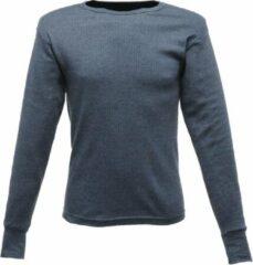 Marineblauwe Senvi Thermo - Cool T-Shirt Lange Mouw - Kleur Denim - Maat XXL