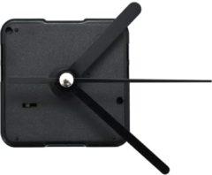 Zwarte VidaXL Uurwerkmechanisme met wijzers quartz
