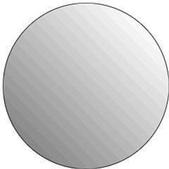 Plieger Basic 4mm ronde spiegel O 40cm zilver 4350060