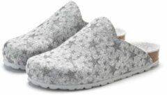 Grijze LASCANA pantoffels