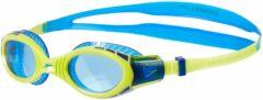Blauwe Speedo Junior Futura Flexiseal Zwembril Unisex - Blue - One Size