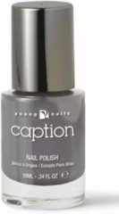 Antraciet-grijze Young Nails - Caption Caption Nagellak 051 - Isn't thaaat nice ?