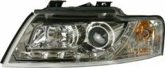 Universeel Set Koplampen DRL-Look Audi A4 B6 Cabrio 2002- - Chroom