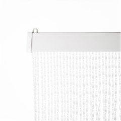 Transparante Huis, tuin en tafelzeil PVC Vliegengordijn / deurgordijn, MADRID (93x230cm)