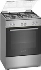 Zilveren Bosch HXA090D50N - Vrijstaand fornuis - RVS