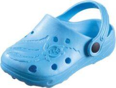 Turquoise BECO Unisex Clogs Blauw Maat 26