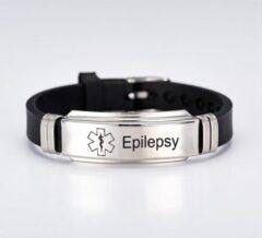 Merkloos / Sans marque Armband - Epilepsie - waarschuwingsarmband