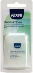 Rident Flosdraad Dental Floss Waxed Met Fluoride En Mint