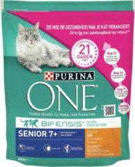 Purina One Senior Volkoren Granen Kip Inhoud - 800 gram