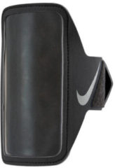 Nike sportarmband Lean Armband Plus zwart/zilver