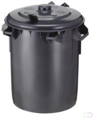 Kunststof Vuilnisbak 70 liter, Donkergrijs