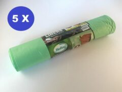 Groene Print equipment 15 x BIOBAG biologisch composteerbare | afbreekbare vuilniszakken | gft afvalzakken 240 L