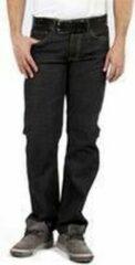 Zwarte DJX BASIC DJX Heren Jeans Model 121 stretch Regular - Kleur: Blackstone - Maat: 34/30