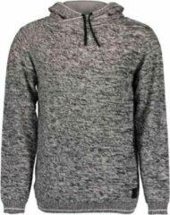 Zwarte Blue Seven heren trui/sweater grijs gemeleerd - maat M