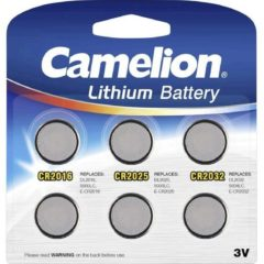 Battery Camelion Lithium Mix Set CR2016, CR2025, CR2032 (6 pcs.) - Cam