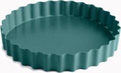 Blauwe Jamie Oliver taartvorm met losse bodem - 25x4cm