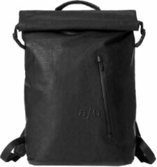 "Zwarte Aunts & Uncles Fukui Laptop Backpack 15"" black backpack"