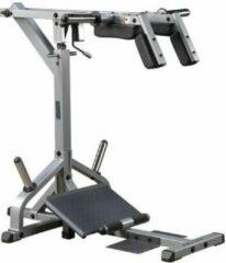Grijze Leverage Squat Calf Machine Body-Solid GSCL360 - Krachtstation