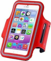 Qatrixx Sports armband case Rood Red voor Apple iPhone 7 Plus
