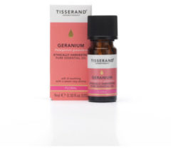 Tisserand GERANIUM Pelargonium graveolens ethically harvested 9 ml