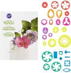 Wilton Gum Paste Flower Cut-Outs Set