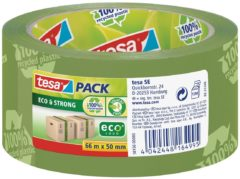 Tesa 58156-00-00 Pakband tesapack Eco&Strong Groen (l x b) 66 m x 50 mm 1 rollen
