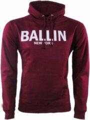 Ballin - Heren Trui - Hoodie - Sweat - Rood