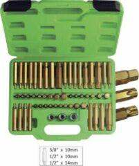 JBM Tools | Bitset in koffer 55-Delig heavy duty JBM Tools | Krachtbit | Torx | Philips | Pozidrive | Kruiskop | Veeltandig | Inbus | Zeskant | kwaliteit | Professioneel |