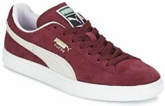 Rode Lage Sneakers Puma SUEDE CLASSIC