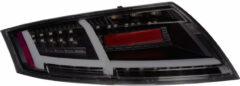 Autostyle Set LED Achterlichten passend voor Audi TT 2006-2013 Zwart/Smoke incl. Dynamic knipperlichten