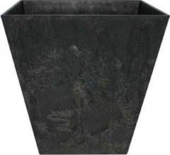 Bloempot Pot Ella zwart 30 x 29 cm Artstone
