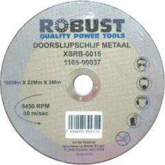 Doorslijpschijf Metaal Robust XSRB-0019 180Mm X 22Mm X 3Mm Set 5 Stuks