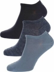 Blauwe PUMA Sokken - SNEAKER PLAIN 3 paar - Unisex - Maat 47 denim blue