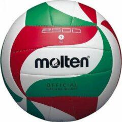 Molten Volleybal Vm2501l Rood/wit/groen Maat