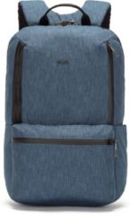 Blauwe Pacsafe Metrosafe X 20L - Anti diefstal Backpack - 20,5 L - Denim (Dark Denim)